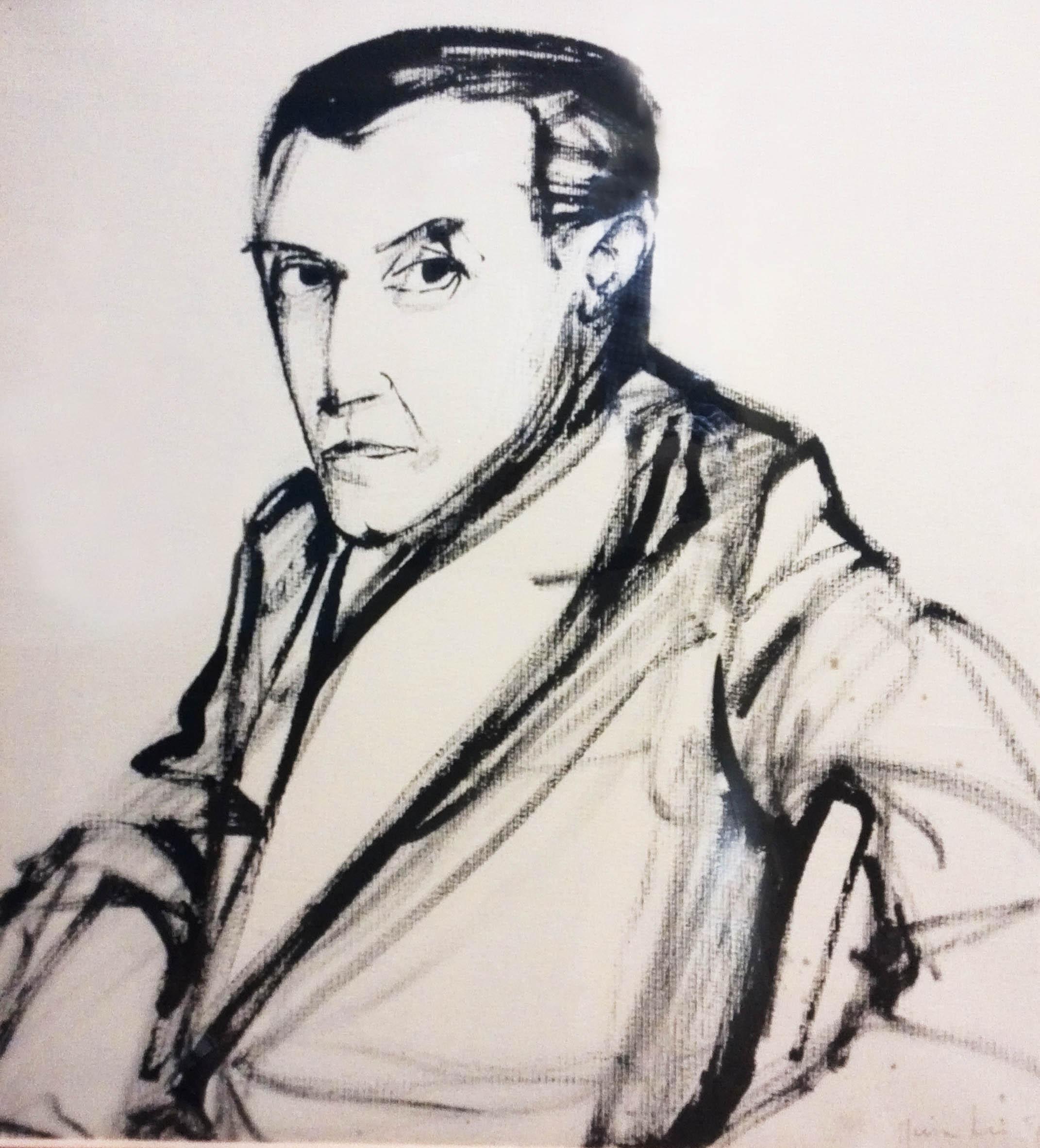 Salvatore Cambosu by Maria Lai, 1952